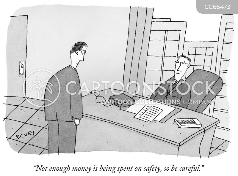 risk assessment cartoon