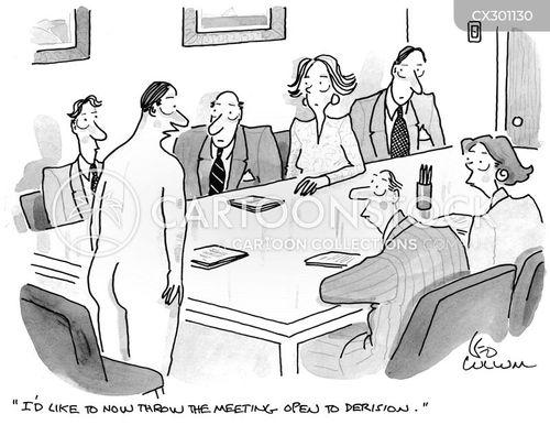 mock cartoon