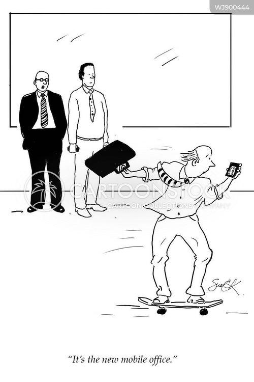 skateboarder cartoon