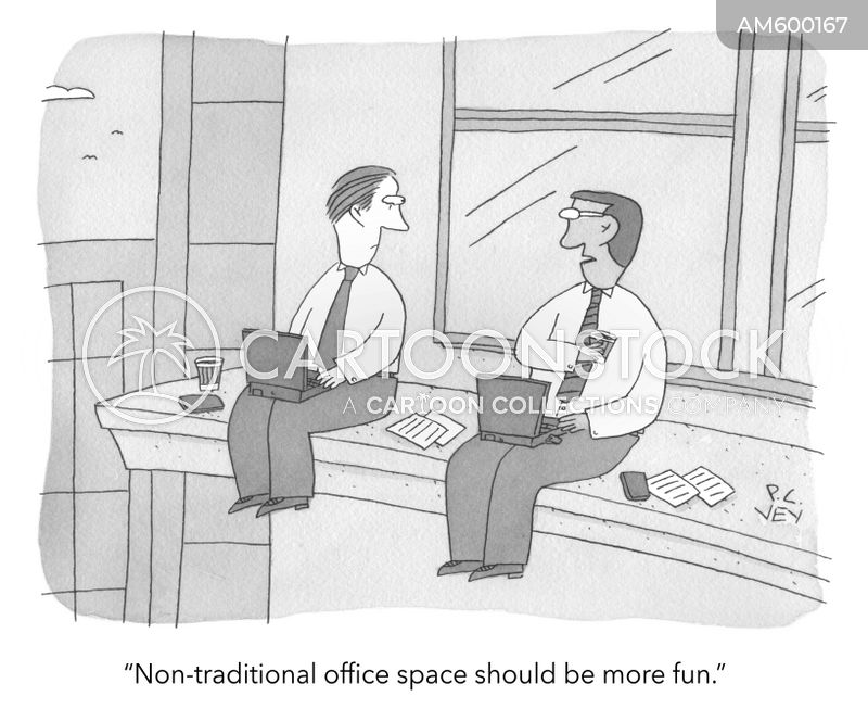 office spaces cartoon