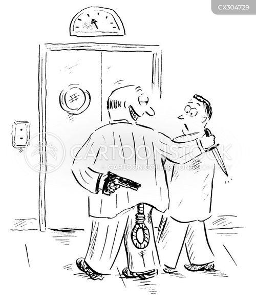 hostile cartoon