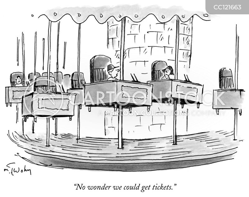 fairground rides cartoon