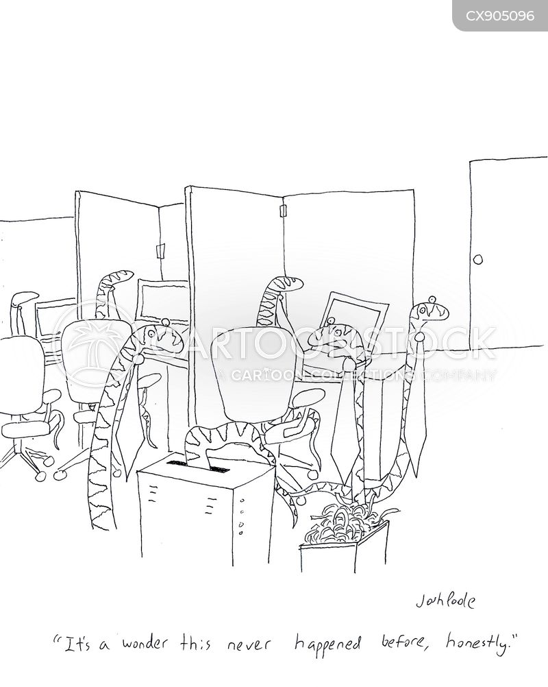 workplace accident cartoon
