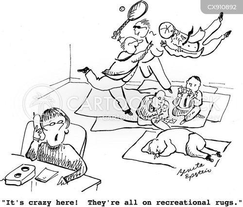 rug cartoon
