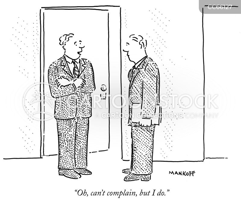 complaints cartoon