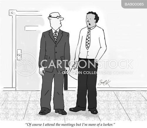 attends cartoon