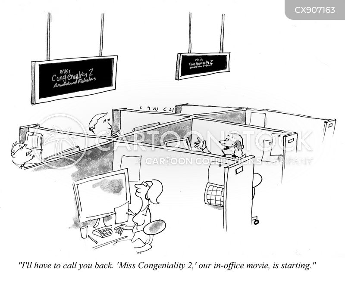 distracts cartoon