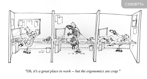 ergonomics cartoon