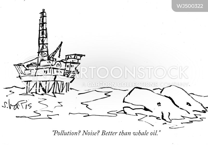 oil rig cartoon