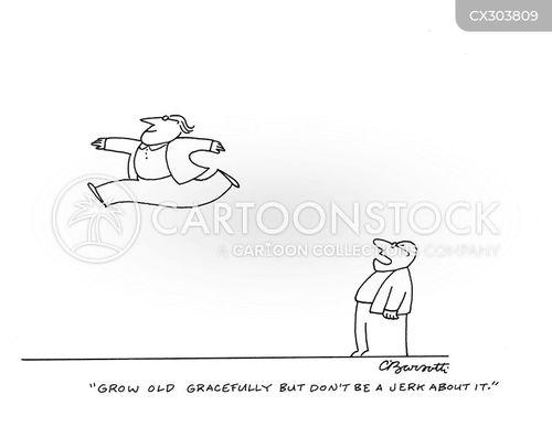 graceful cartoon