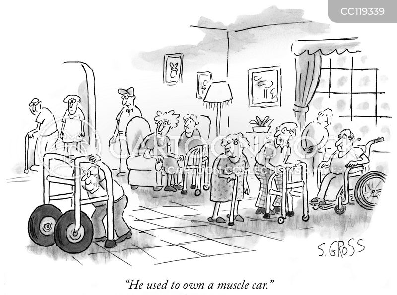nursing homes cartoon
