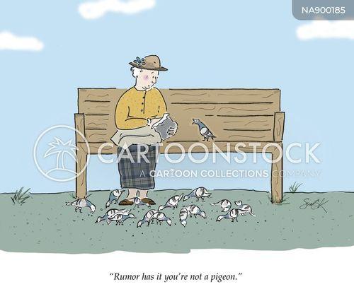 rumour mill cartoon