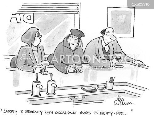 exaggerating cartoon