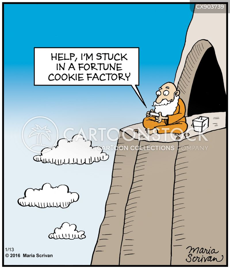 old man on a mountain cartoon