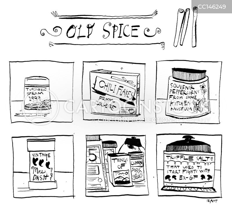 old spices cartoon