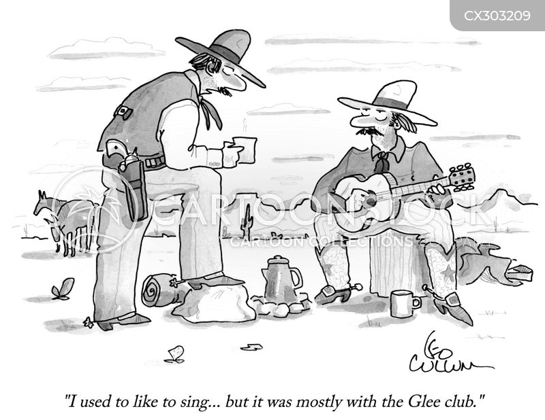 glee clubs cartoon