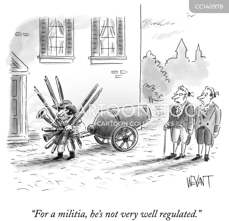 warfare cartoon