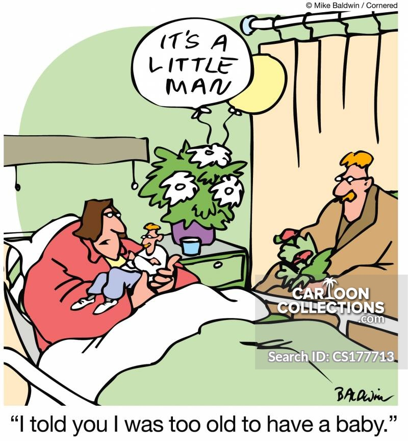 Late Pregnancy Cartoons And Comics Funny Pictures From Cartoon Collections