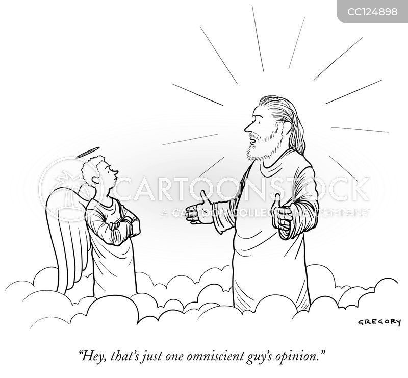 Omniscience cartoon