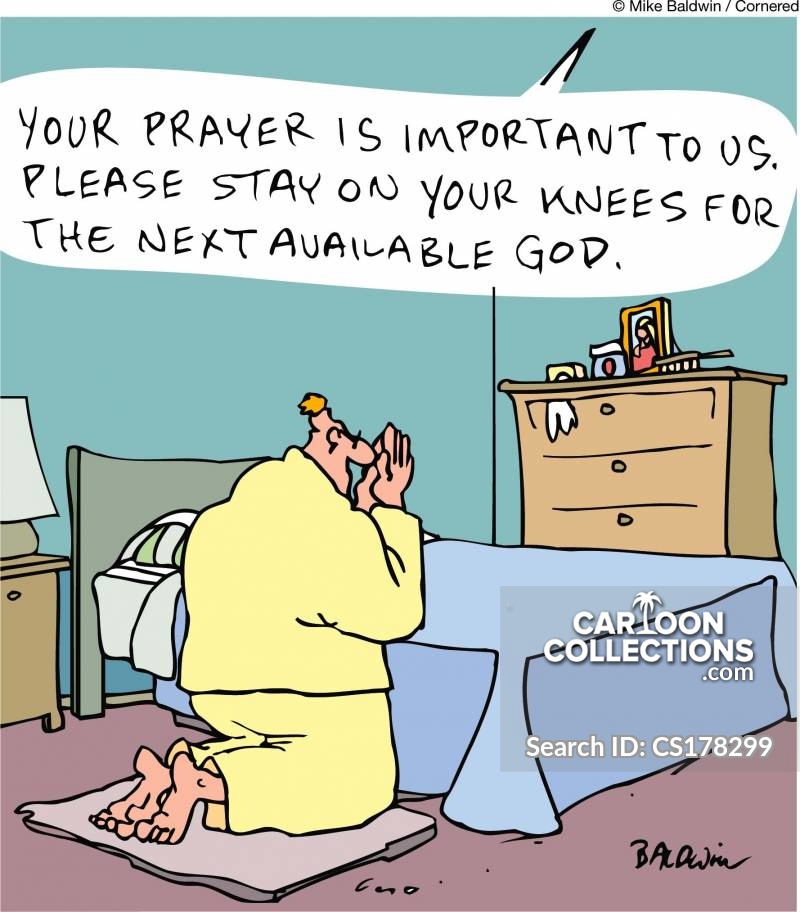 Saying A Prayer Cartoons and Comics - funny pictures from Cartoon ...