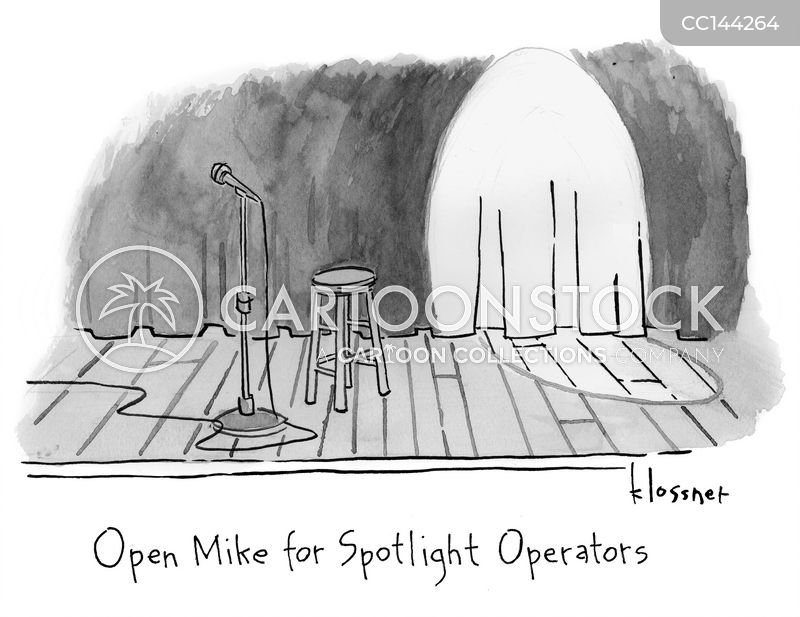 spotlight cartoon