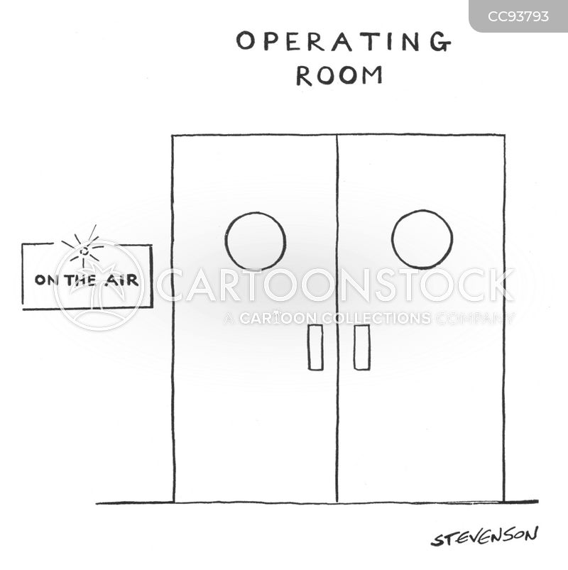 Operating Rooms cartoon