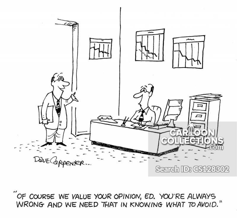 valued opinion cartoon
