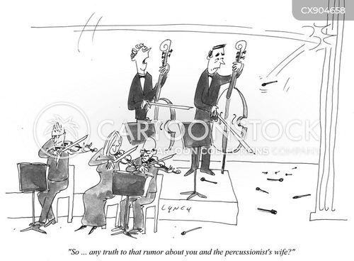 cellos cartoon