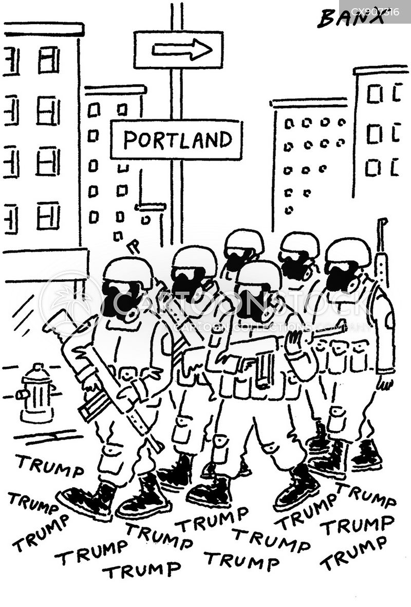 portland cartoon