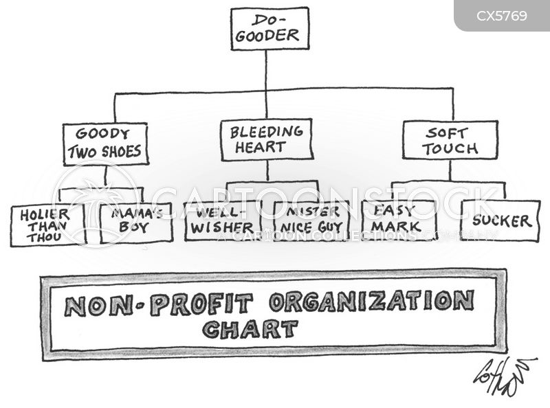 org charts cartoon