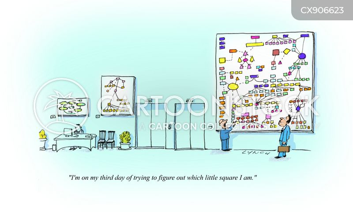 job title cartoon