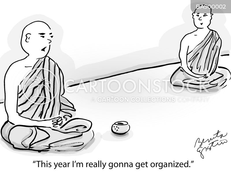 spiritual cartoon