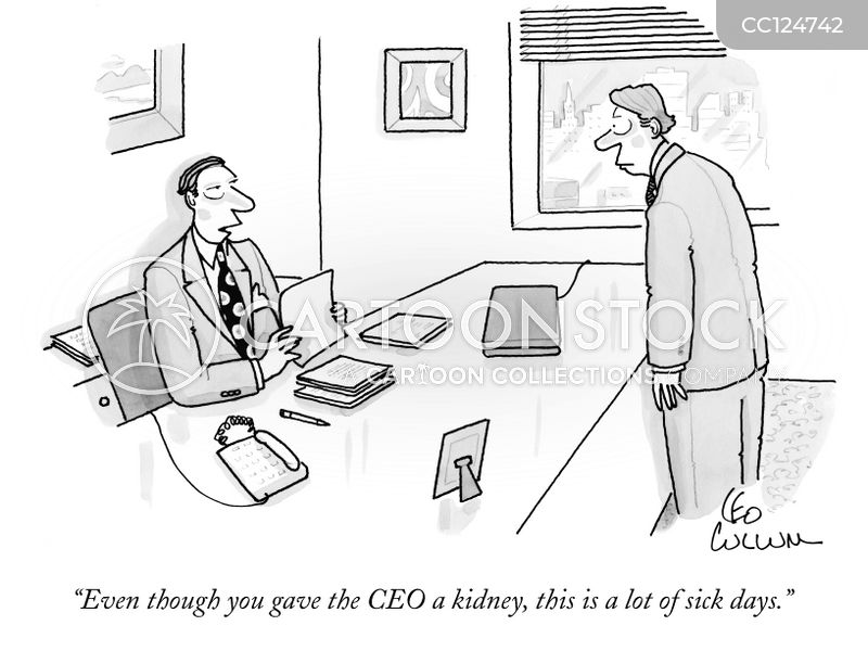 office drone cartoon