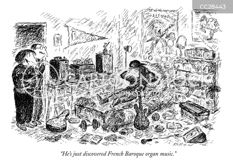 french baroque cartoon