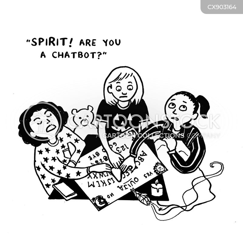 spiritualism cartoon