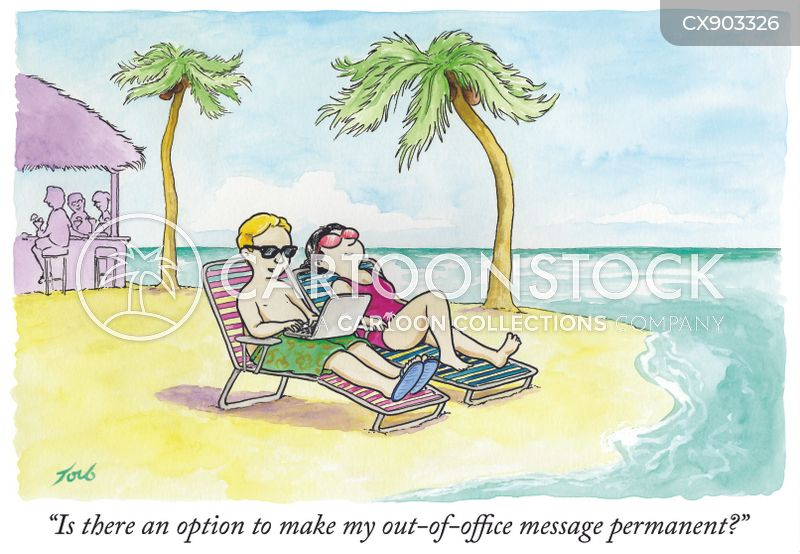 automatic replies cartoon