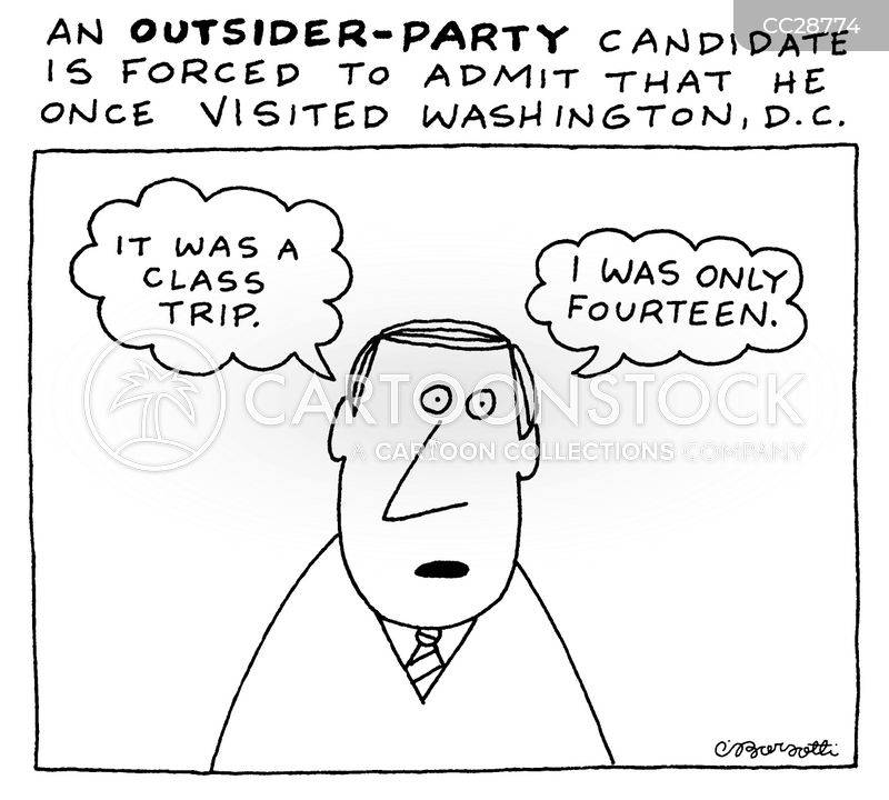 campaigners cartoon