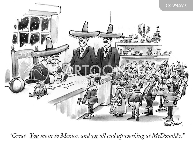 united states mexico and canada agreement cartoon