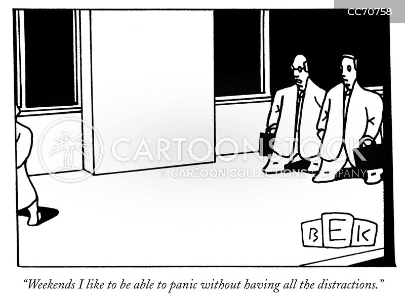 overworking cartoon
