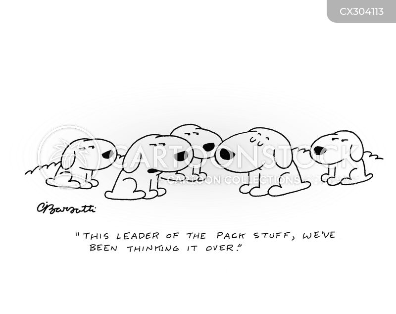 alpha dogs cartoon