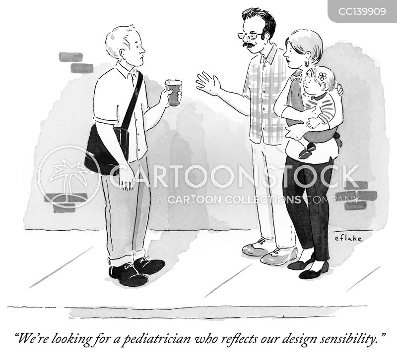 Paediatricians cartoon