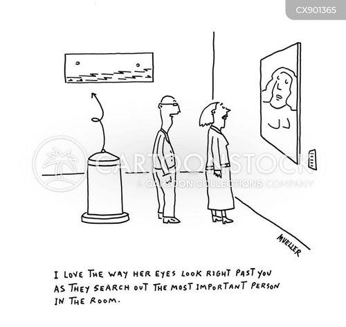 gazes cartoon