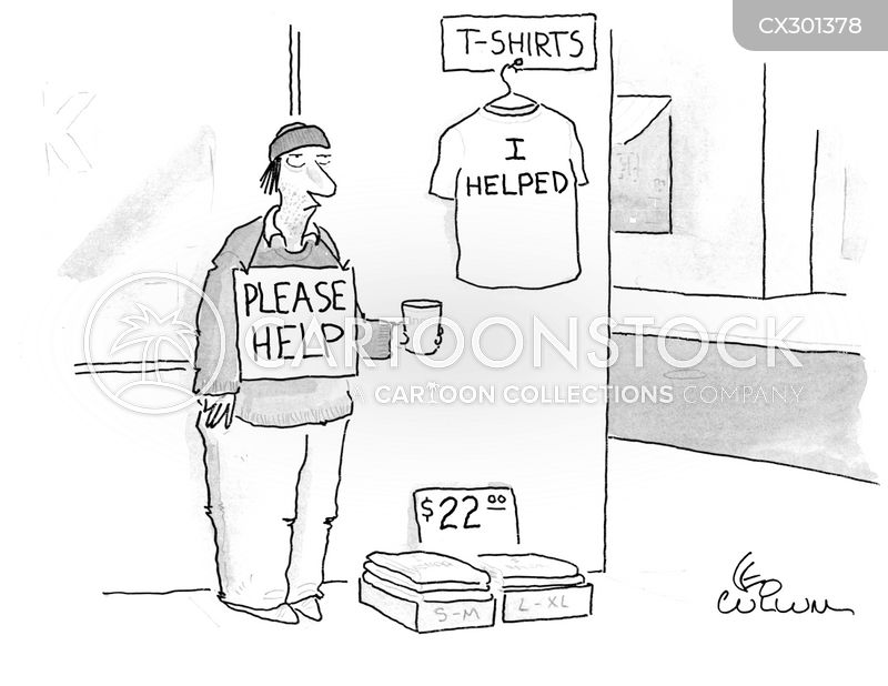 merchandising cartoon