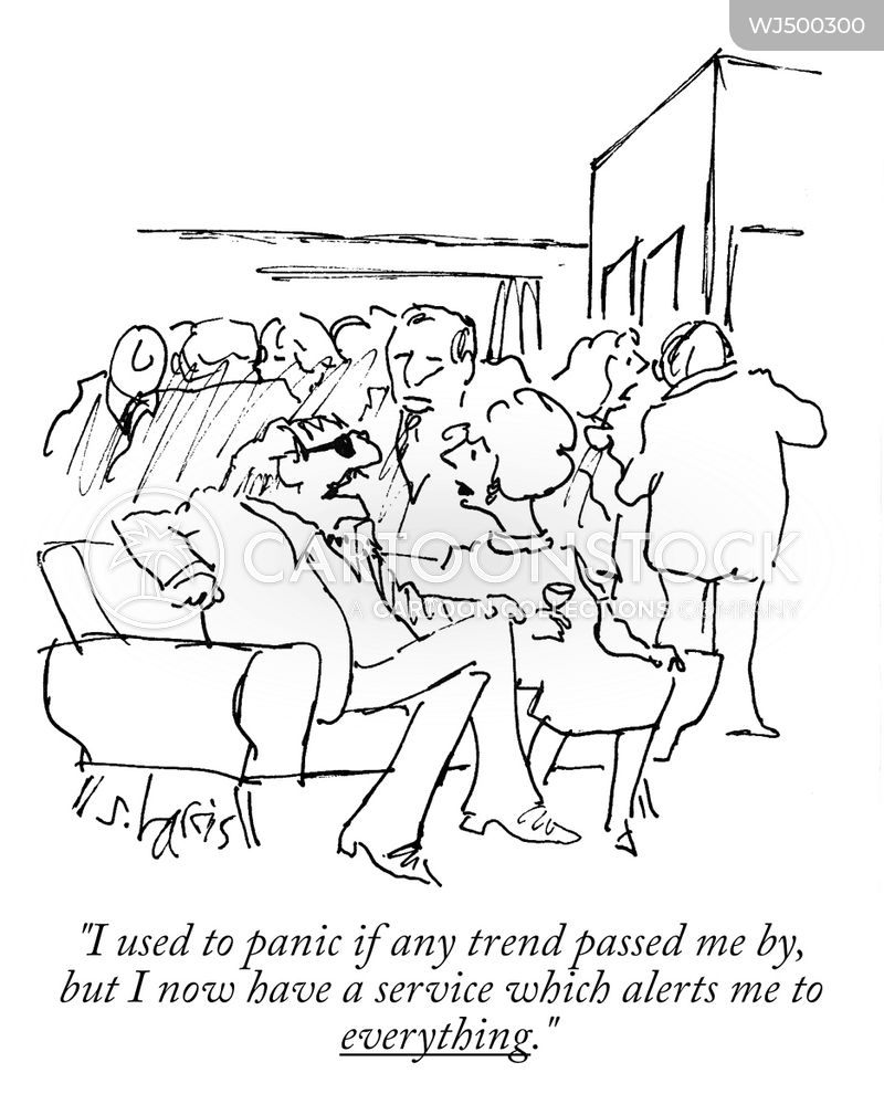panic cartoon