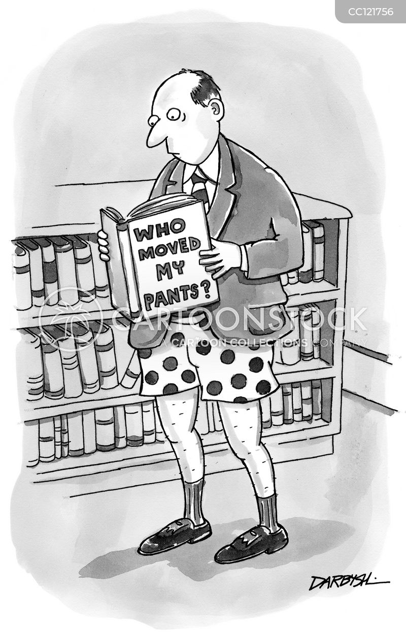 bookcase cartoon