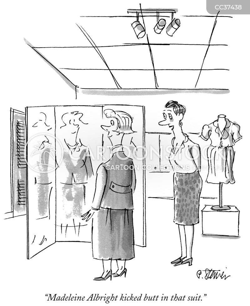 dressing up cartoon
