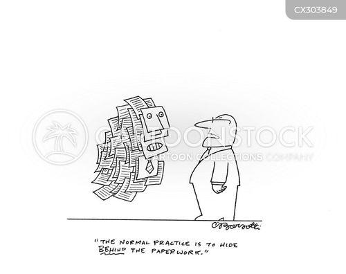 embezzled cartoon