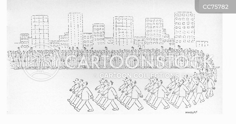 parade cartoon