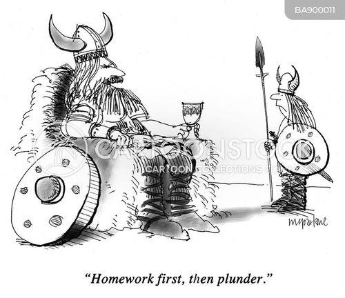 plunder cartoon