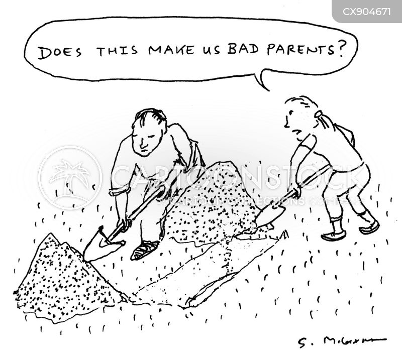 shallow grave cartoon